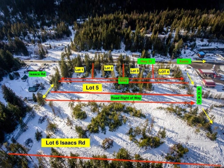 Lot 4 Highway 31 - Kaslo Vacant Land for sale(2434650)