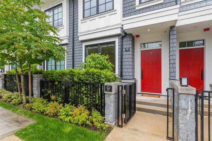 9 1133 RIDGEWOOD DRIVE - Edgemont Townhouse for sale, 3 Bedrooms (R2585429)