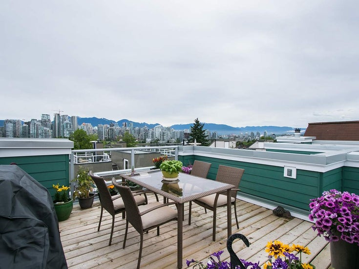 7 1065 W 8th Avenue - Fairview VW Townhouse for sale, 1 Bedroom (R2179350)