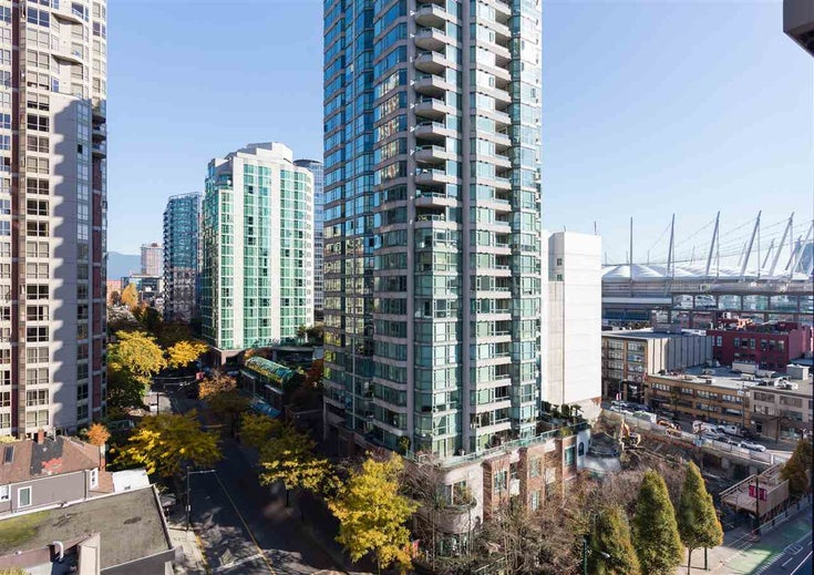 1201 909 Mainland Street - Yaletown Apartment/Condo for sale, 1 Bedroom (R2218452)