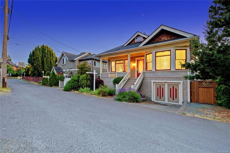 418 Heather St Victoria BC  - Vi James Bay Single Family Detached for sale, 3 Bedrooms (872464)