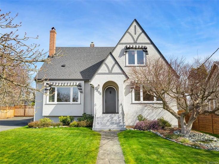 2808 Thompson Ave Oak Bay BC  - OB Estevan Single Family Detached for sale, 5 Bedrooms (869852)