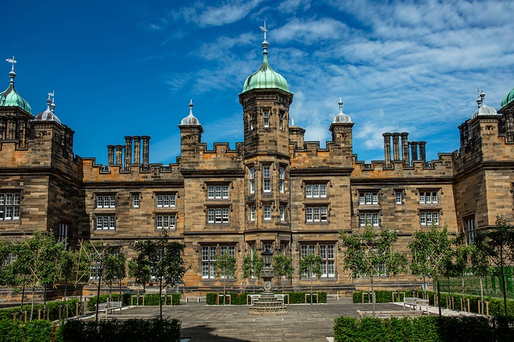 Exterior, The Playfair at Donaldson's, Edinburgh, United Kingdom