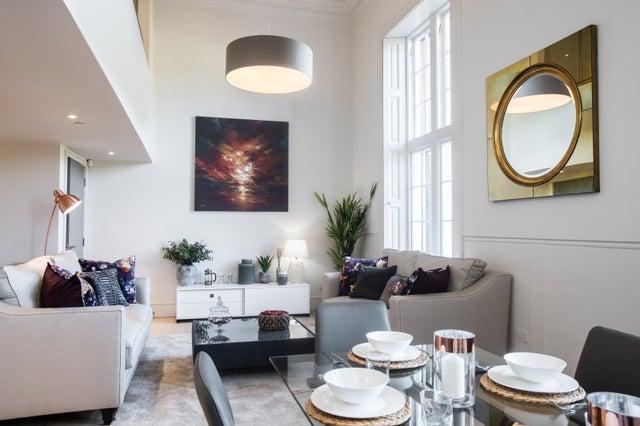 Living Room, The Playfair at Donaldson's, Edinburgh, United Kingdom