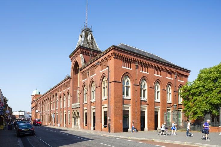 Exterior, Factory No. 1, Bristol, England