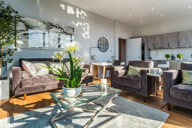 Living Room, Factory No. 1, Bristol, England
