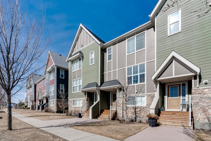 281 Mahogany Boulevard SE - Mahogany Row/Townhouse for sale, 3 Bedrooms (A1117417)
