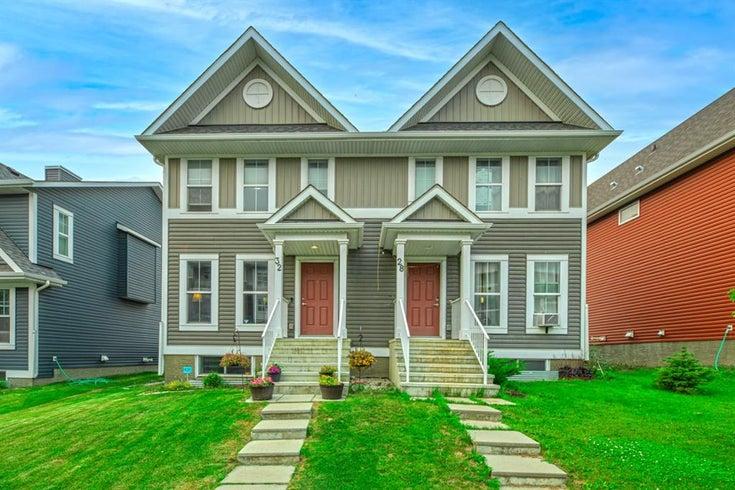 32 Auburn Meadows Avenue SE - Auburn Bay Semi Detached for sale, 3 Bedrooms (A1135067)