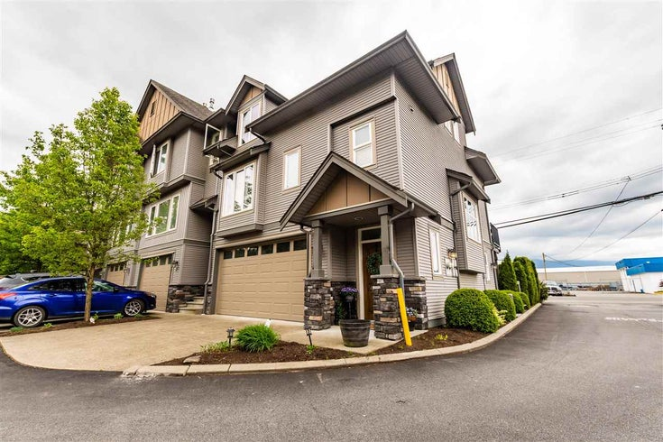 1 46083 AIRPORT ROAD - Chilliwack E Young-Yale Townhouse for sale, 3 Bedrooms (R2576373)