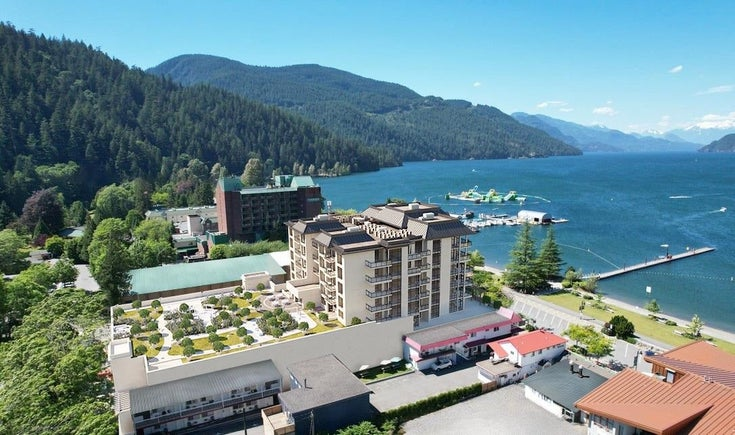 204 120 ESPLANADE AVENUE - Harrison Hot Springs Apartment/Condo for sale, 1 Bedroom (R2601453)
