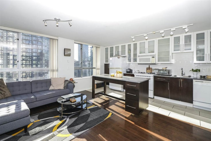 1206 1225 Richards Street - Downtown VW Apartment/Condo for sale, 1 Bedroom (R2445592)