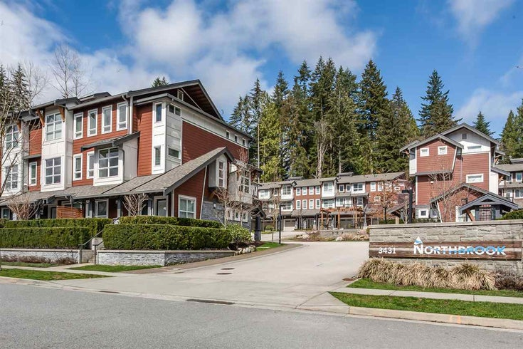 2 3431 Galloway Avenue - Burke Mountain Townhouse for sale, 3 Bedrooms (R2500625)