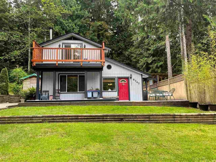 5747 NAYLOR ROAD - Sechelt District House/Single Family for sale, 2 Bedrooms (R2592089)