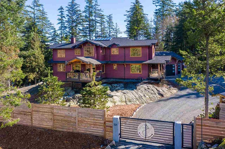 321 Josephine Drive - Bowen Island House/Single Family for sale, 4 Bedrooms (R2443189)