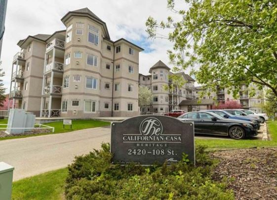 201 2420 108 Street - Ermineskin Lowrise Apartment for sale, 2 Bedrooms (E4246505)