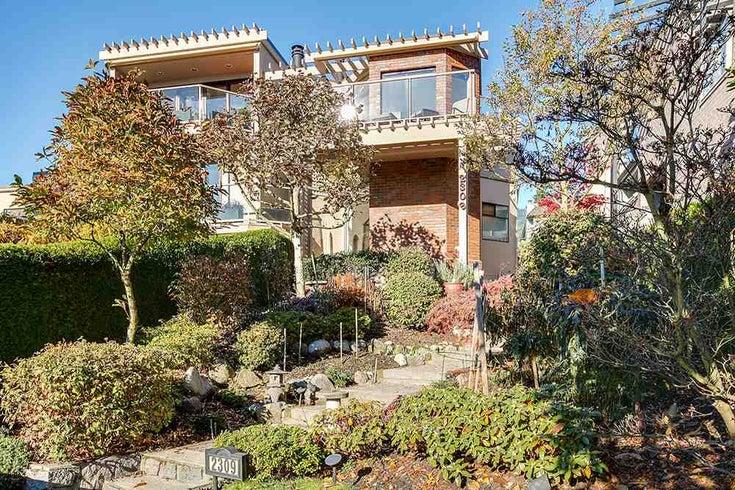 2309 Bellevue Avenue - Dundarave 1/2 Duplex for sale, 2 Bedrooms (R2023795)