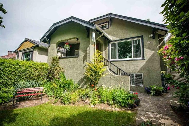 3581 E PENDER STREET - Renfrew VE House/Single Family for sale, 3 Bedrooms (R2588104)