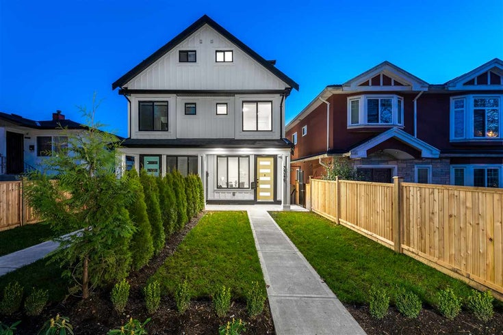 3348 E 8th Avenue - Renfrew Heights 1/2 Duplex for sale, 3 Bedrooms (R2532847)