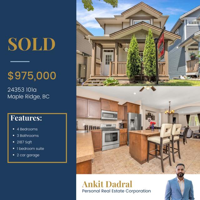 24353 101a, Maple Ridge  - Albion House/Single Family for sale(R2593805)