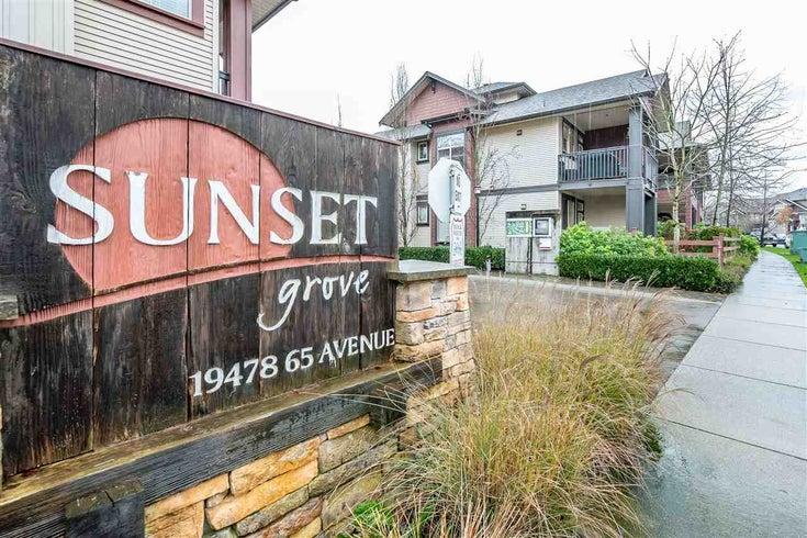 35 19478 65 Avenue - Clayton Apartment/Condo for sale, 1 Bedroom (R2327695)