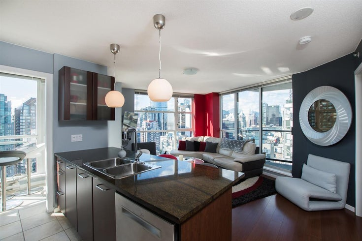 2402 1199 Seymour Street - Downtown VW Apartment/Condo for sale, 1 Bedroom (R2470590)