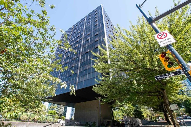 1109 1333 W GEORGIA STREET - Coal Harbour Apartment/Condo for sale, 2 Bedrooms (R2603631)