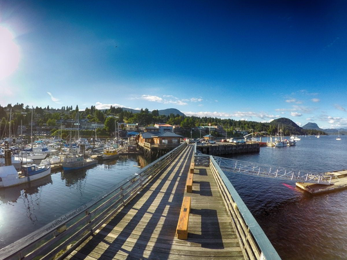 Gibsons' harbour.