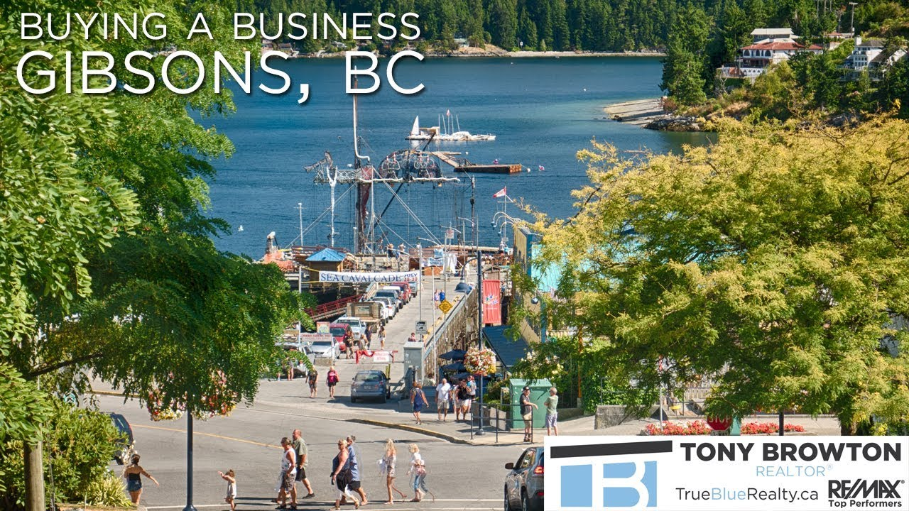 Buying a business in Gibsons, BC.