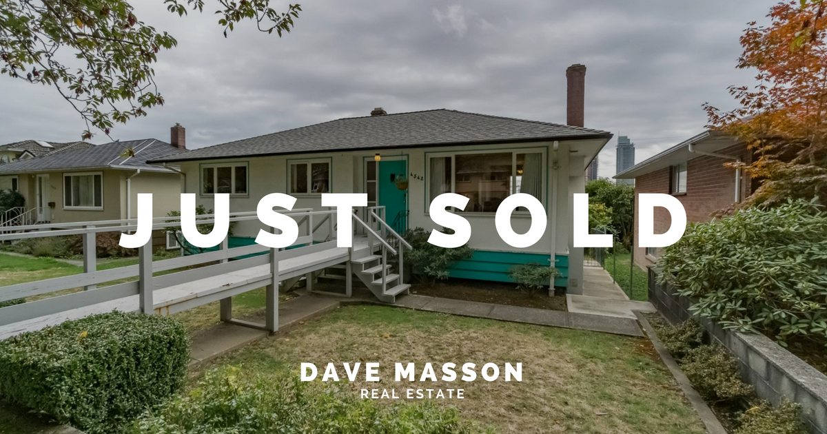 Dave Masson - 4542 Napier St. Burnaby