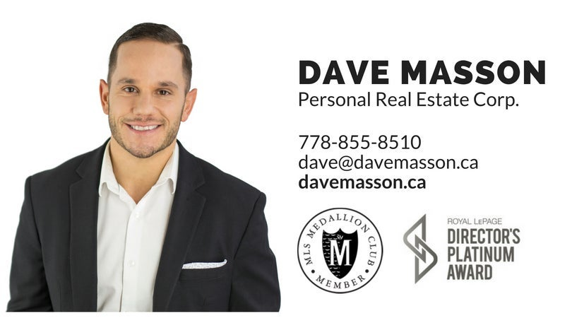 Dave Masson - 101 6440 194th St. Surrey