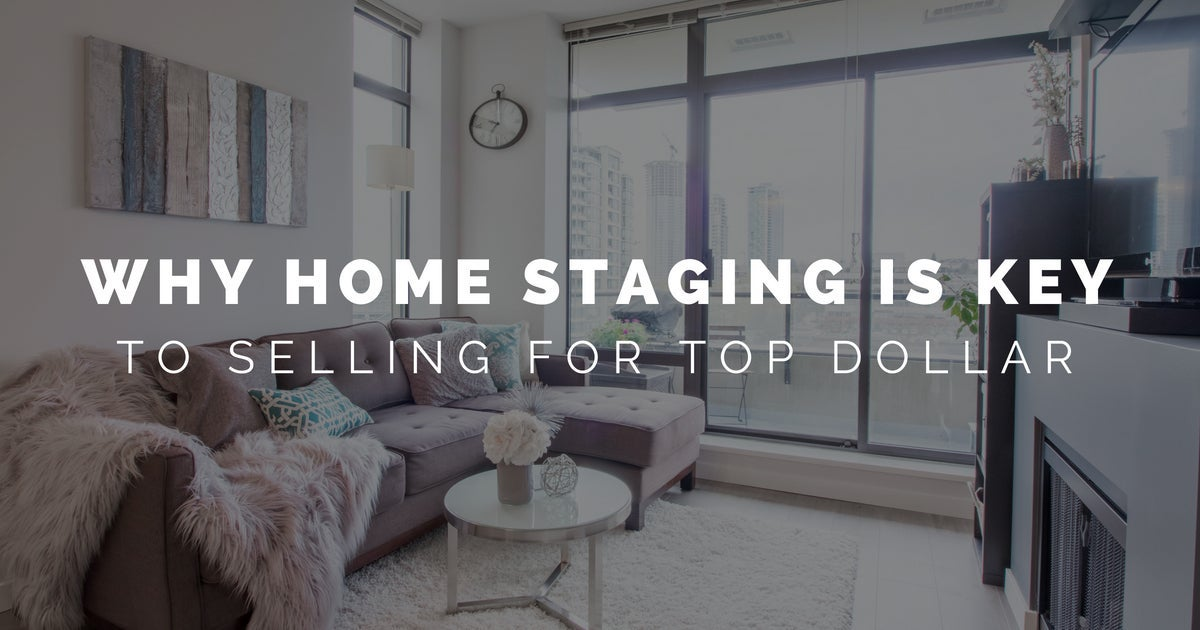 Dave Masson - Why Staged Homes Sell for More Money