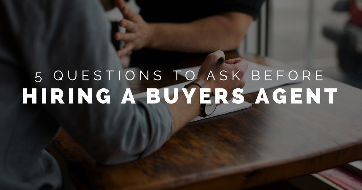 Dave Masson - 5 Questions to Ask Realtor