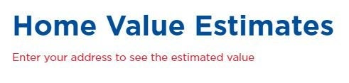 Free Home Estimates