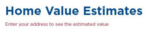Free Home Estimates