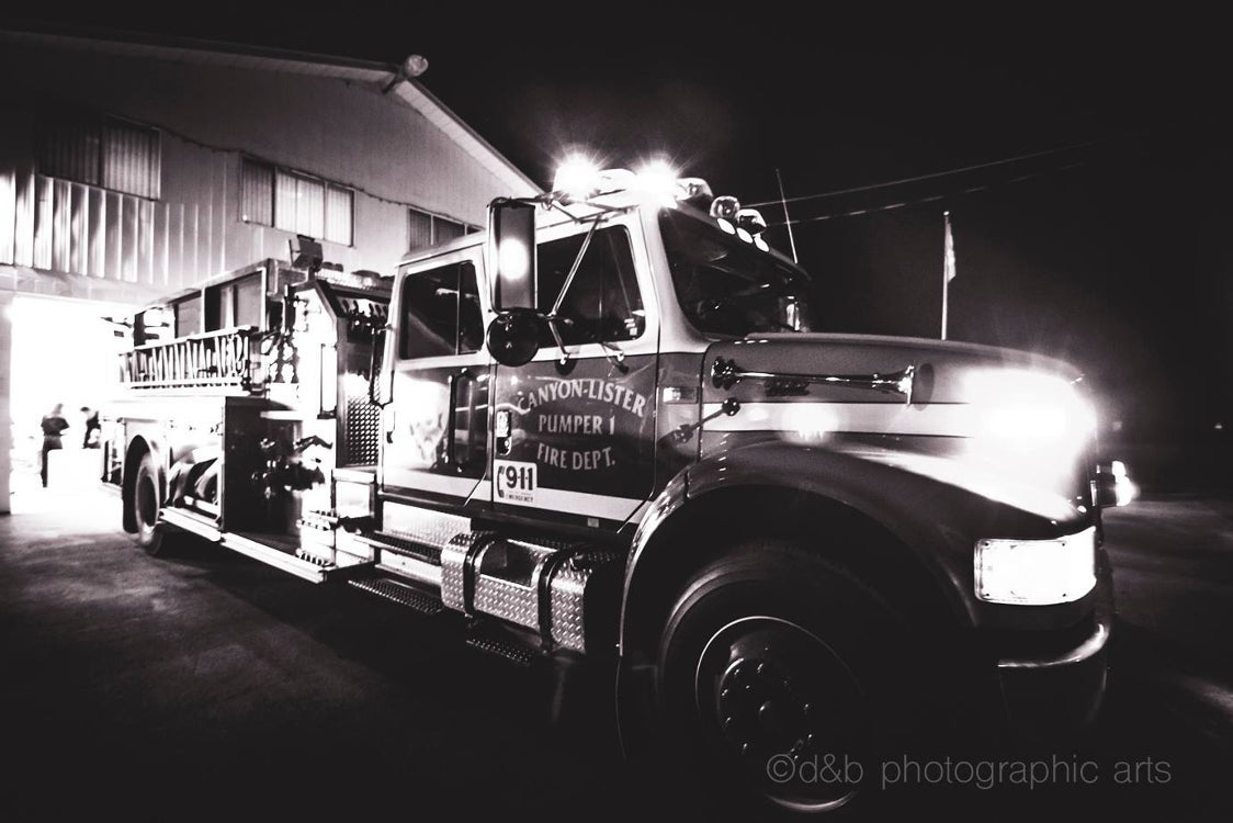 Engine 51, Canyon Lister Fire Dept.