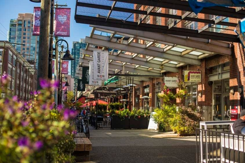 Close to everything!! Walking distance to shopping, recreation, all levels of transit, and some of the finest restaurants in Vancouver.