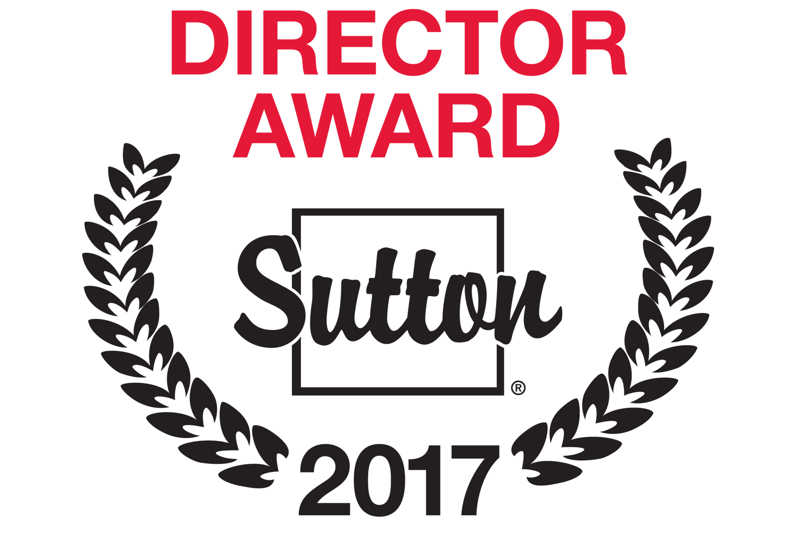 Director Award Sutton 2017