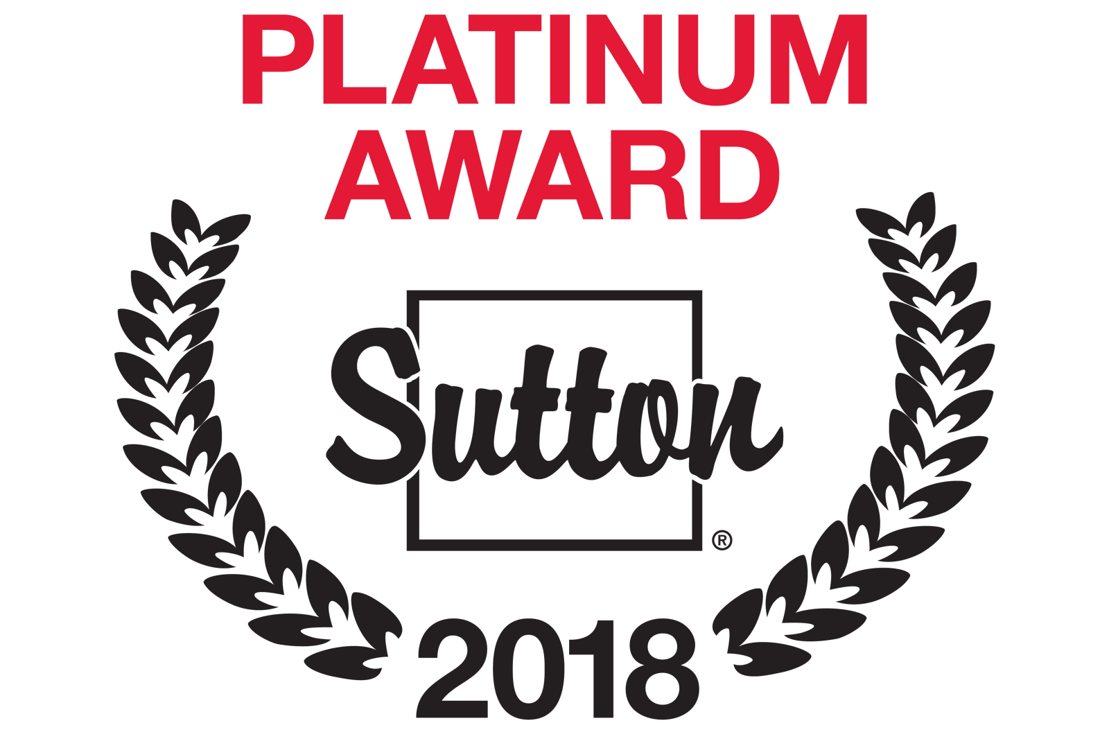 Platinum Award Sutton 2018