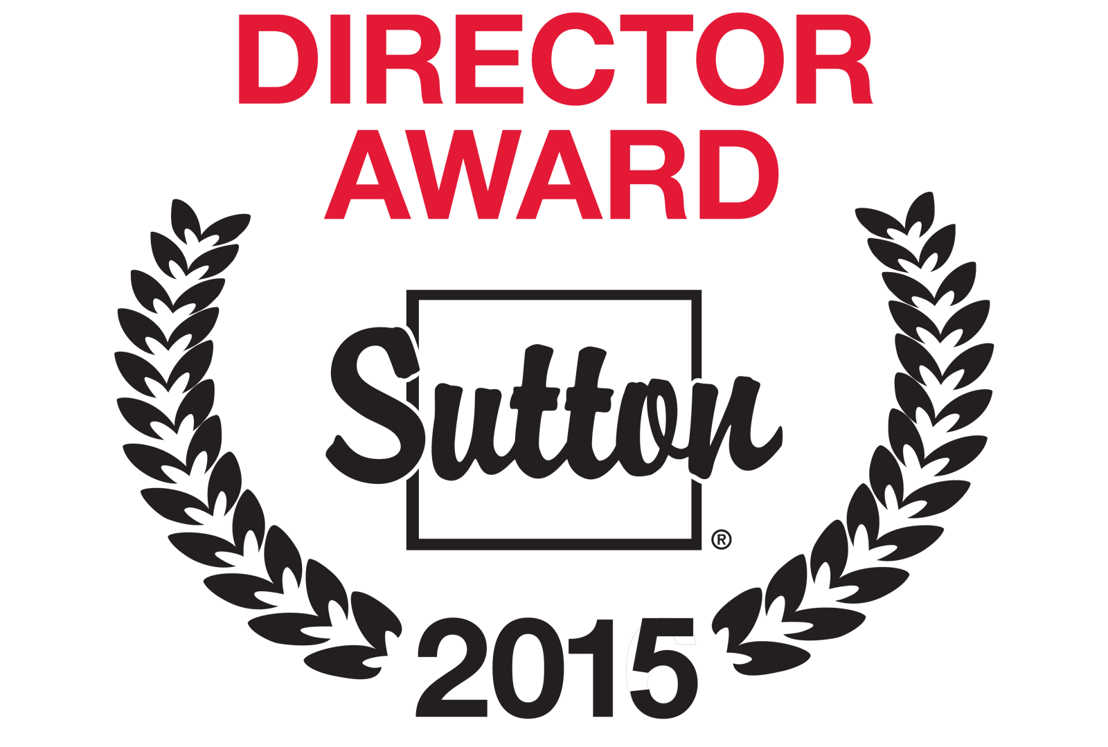 Director Award Sutton 2015