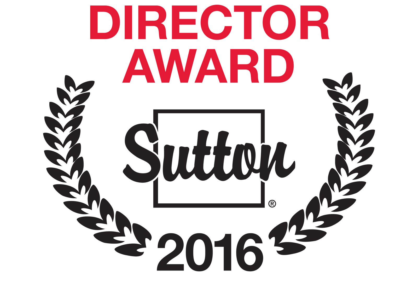 Director Award Sutton 2016