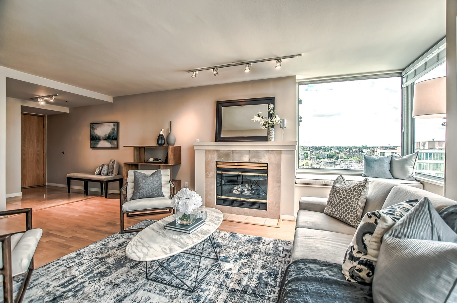 Living Room Vancouver - Chris Frederickson Real Estate