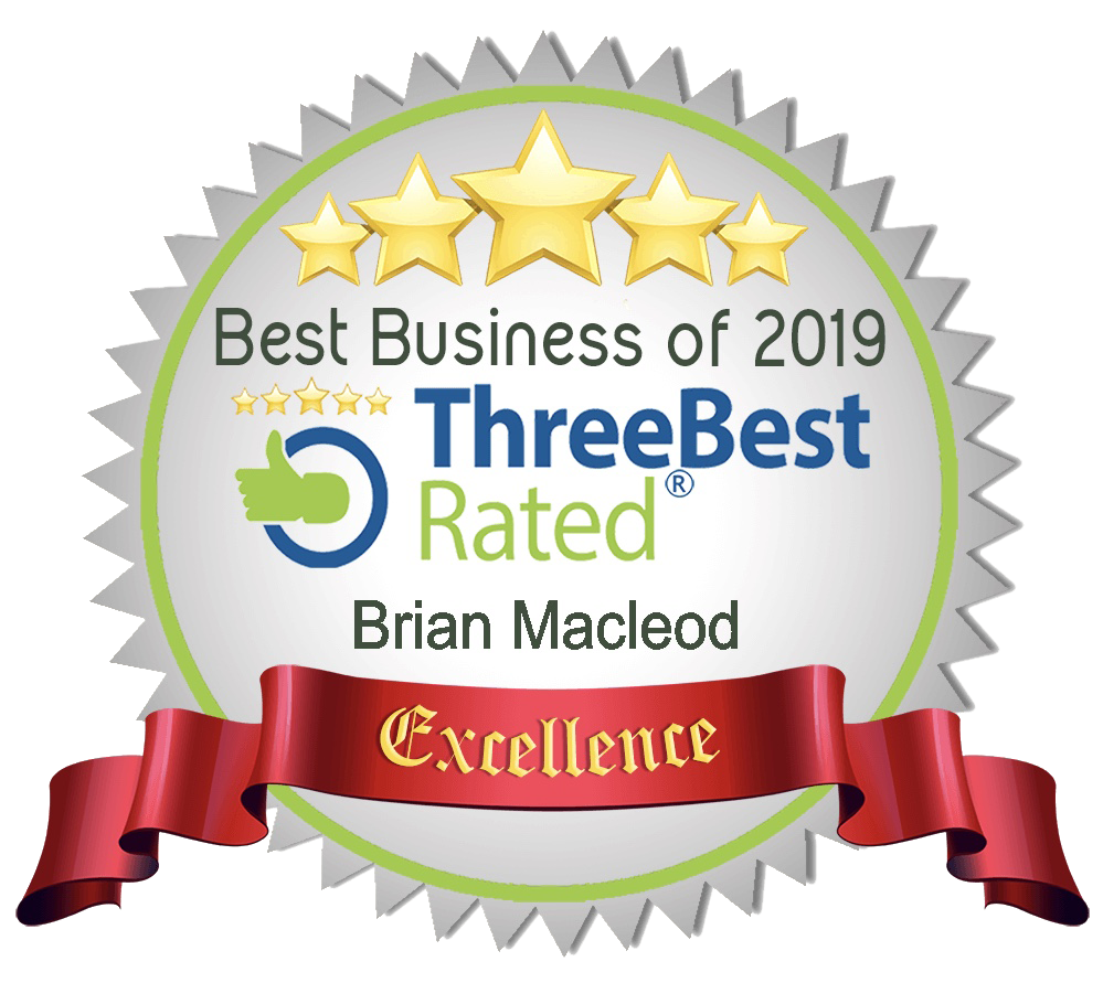 Best Business of 2019 - Three Best Rated - St Albert's Best Realtor - Brian Macleod