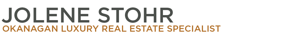 Jolene Stohr - Okanagan Luxury Real Estate Specialist Banner