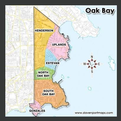 Oak Bay Condo Map