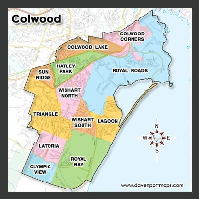 Colwood Condo Map