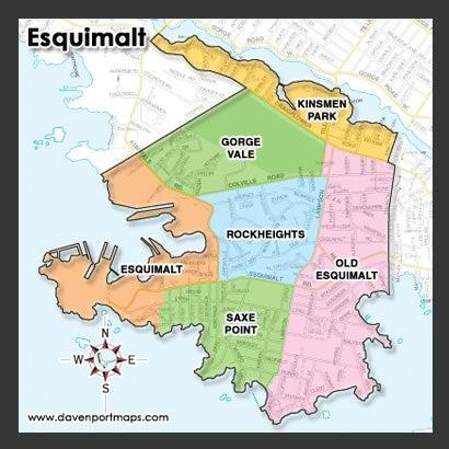 Esquimalt Condo Map