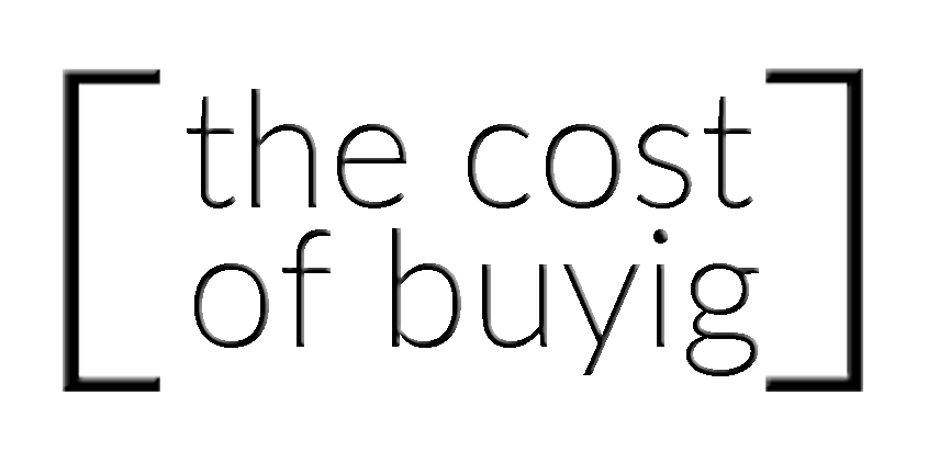 The Cost of Buying