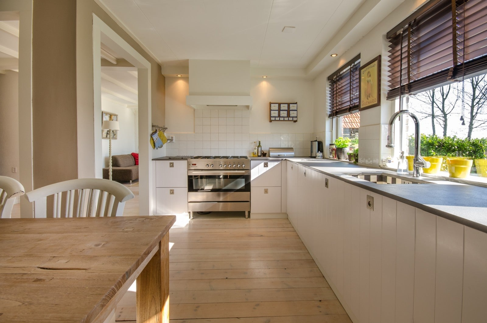 Beautiful Kitchen in House