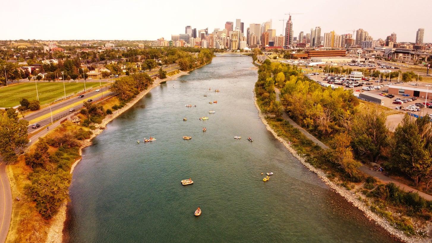 Bow River Calgary