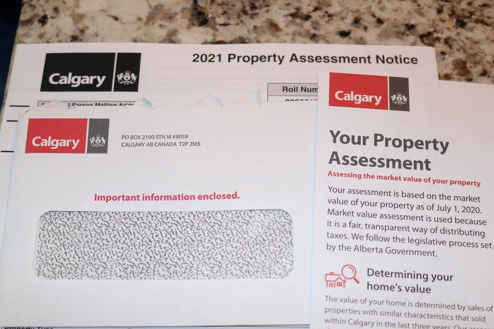 Calgary Tax Assessments